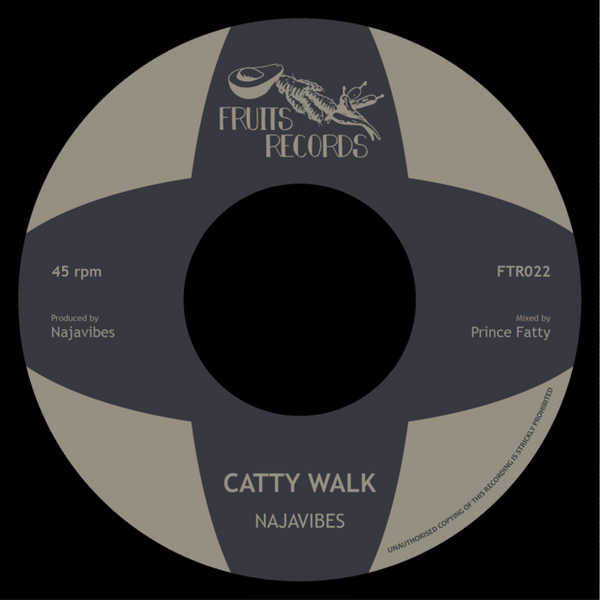 "Najavibes - Catty Walk // Insecurity (7"" Vinyl) - Out Of Joint Records"