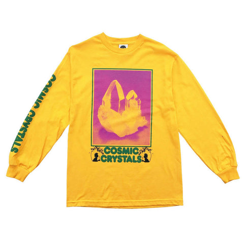 Good Morning Tapes Cosmic Crystals LS Tee - Out Of Joint Records