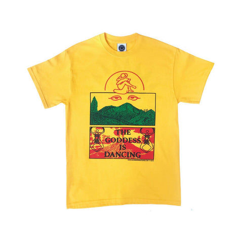 Good Morning Tapes The Goddess Is Dancing SS Tee