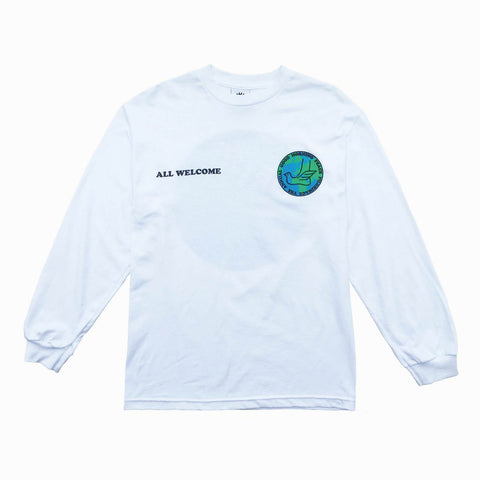 Good Morning Tapes Peace Pilgrimage LS Tee