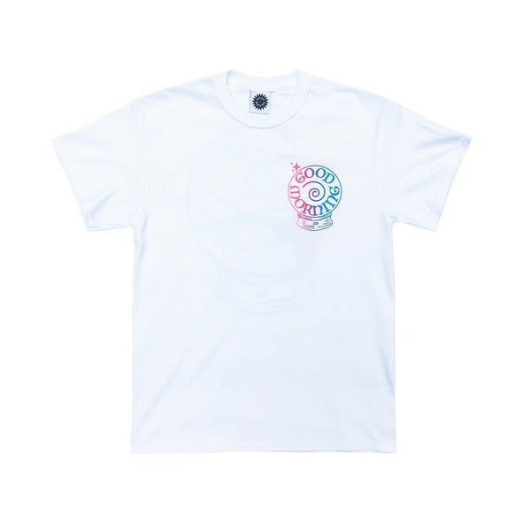 Good Morning Tapes Panaceum SS Tee White - Out Of Joint Records
