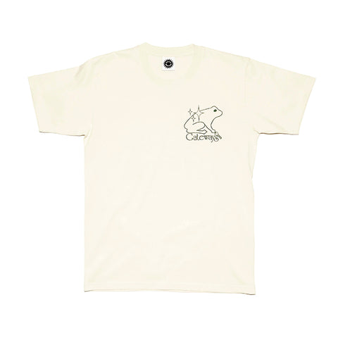 Good Morning Tapes Gateways SS Tee Natural