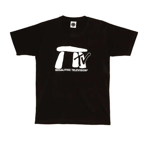 Good Morning Tapes Megalithic TV SS Tee Washed Black