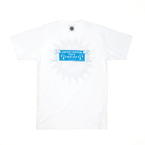 Good Morning Tapes Ancient Wisdom SS Tee White