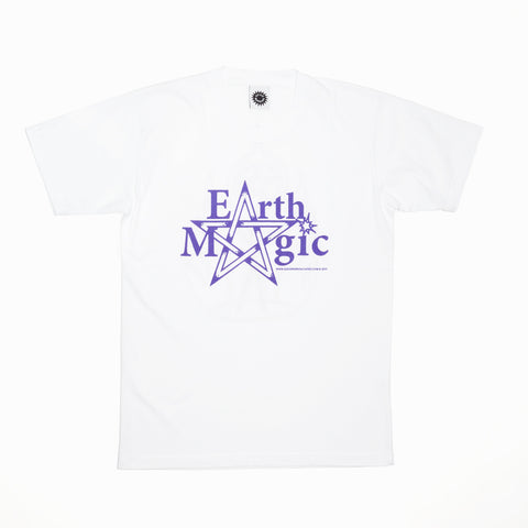 Good Morning Tapes Earth Magic SS Tee White
