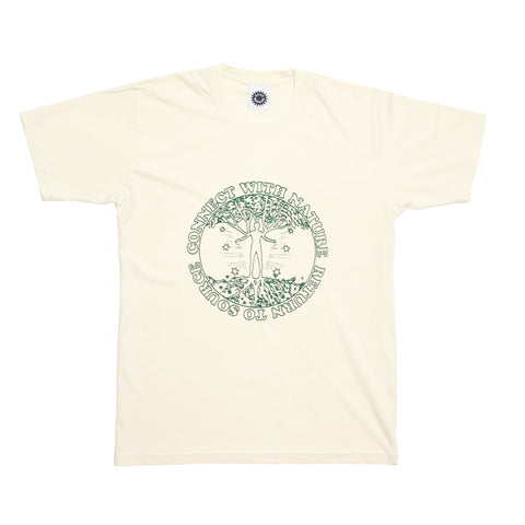 Good Morning Tapes Connect With Nature SS Tee Natural