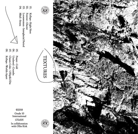 Grade 10 x O.Kirk - Textures (Cassette & Art Print) - Out Of Joint Records