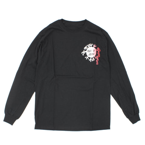 Out Of Joint Cactus Long Sleeve Black - Out Of Joint Records