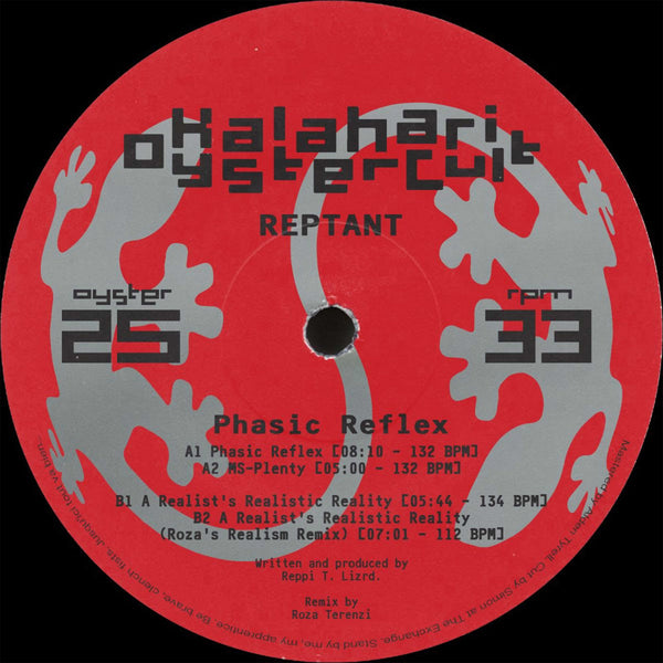 Reptant - Phasic Reflex EP (Pre-order) - Out Of Joint Records