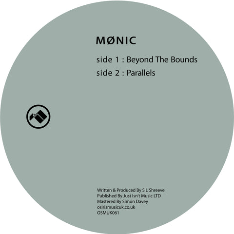 Mønic - Beyond The Bounds - Out Of Joint Records