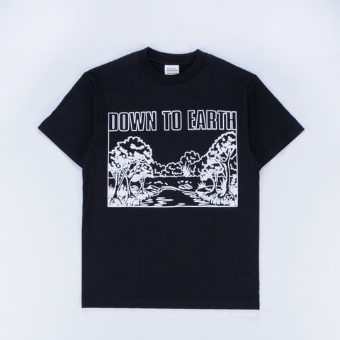 Grade 10 Down To Earth T-Shirt Black - Out Of Joint Records