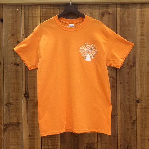 Out Of Joint Stock T-Shirt Orange - Out Of Joint Records