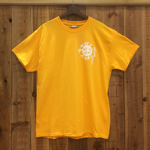 Out Of Joint Cactus T-Shirt Yellow - Out Of Joint Records