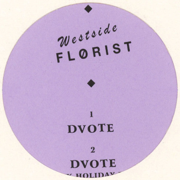 Flørist - DVOTE - Out Of Joint Records