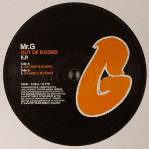 Mr G - Out Of Doors EP - Out Of Joint Records
