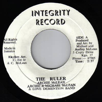 Archie McLean - The Ruler