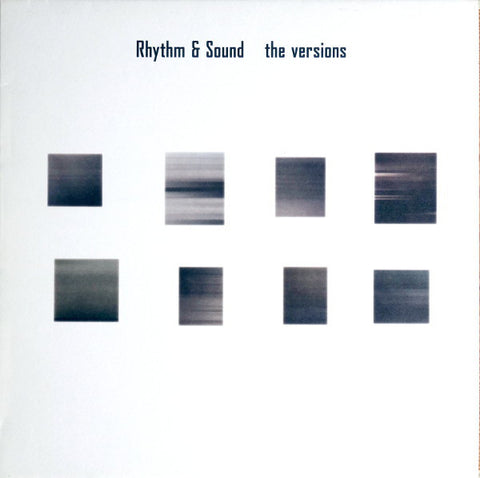 Rhythm & Sound - The Versions - Out Of Joint Records
