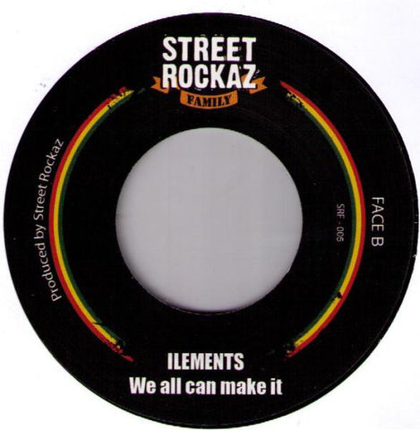 Chezidek / Ilements ‎– Talk To Jah Jah / We All Can Make It - Out Of Joint Records