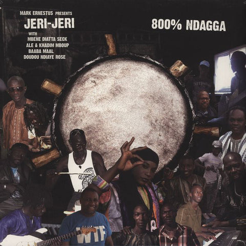 Mark Ernestus Presents Jeri-Jeri - 800% Ndagga - Out Of Joint Records