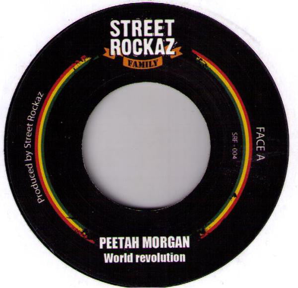 Peetah Morgan - World Revolution - Out Of Joint Records