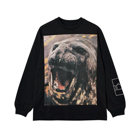 The Trilogy Tapes Seal Longsleeve Black - Out Of Joint Records