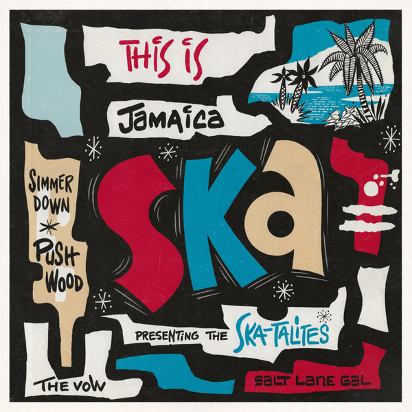 Various Artists - This Is Jamaica Ska LP