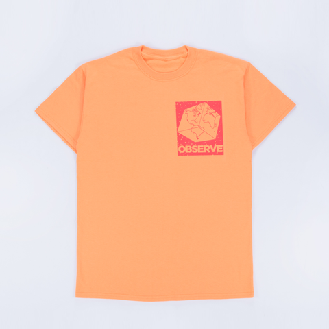 Out Of Joint Observe T-Shirt Orange - Out Of Joint Records