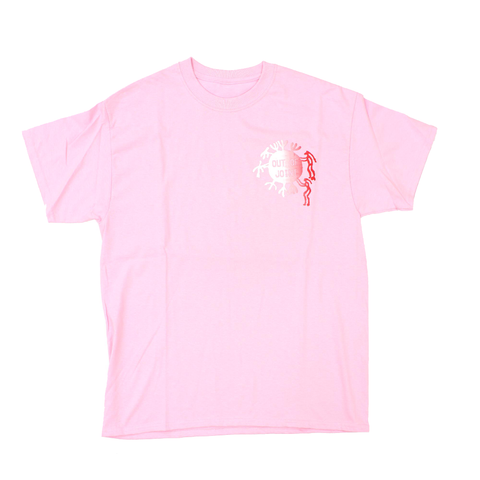 Out Of Joint Cactus T-Shirt Pink - Out Of Joint Records
