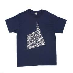 Don't Be Afraid Logo T-Shirt Navy