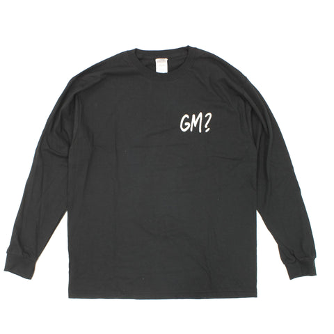 Get Me Long Sleeve T-Shirt Black - Out Of Joint Records
