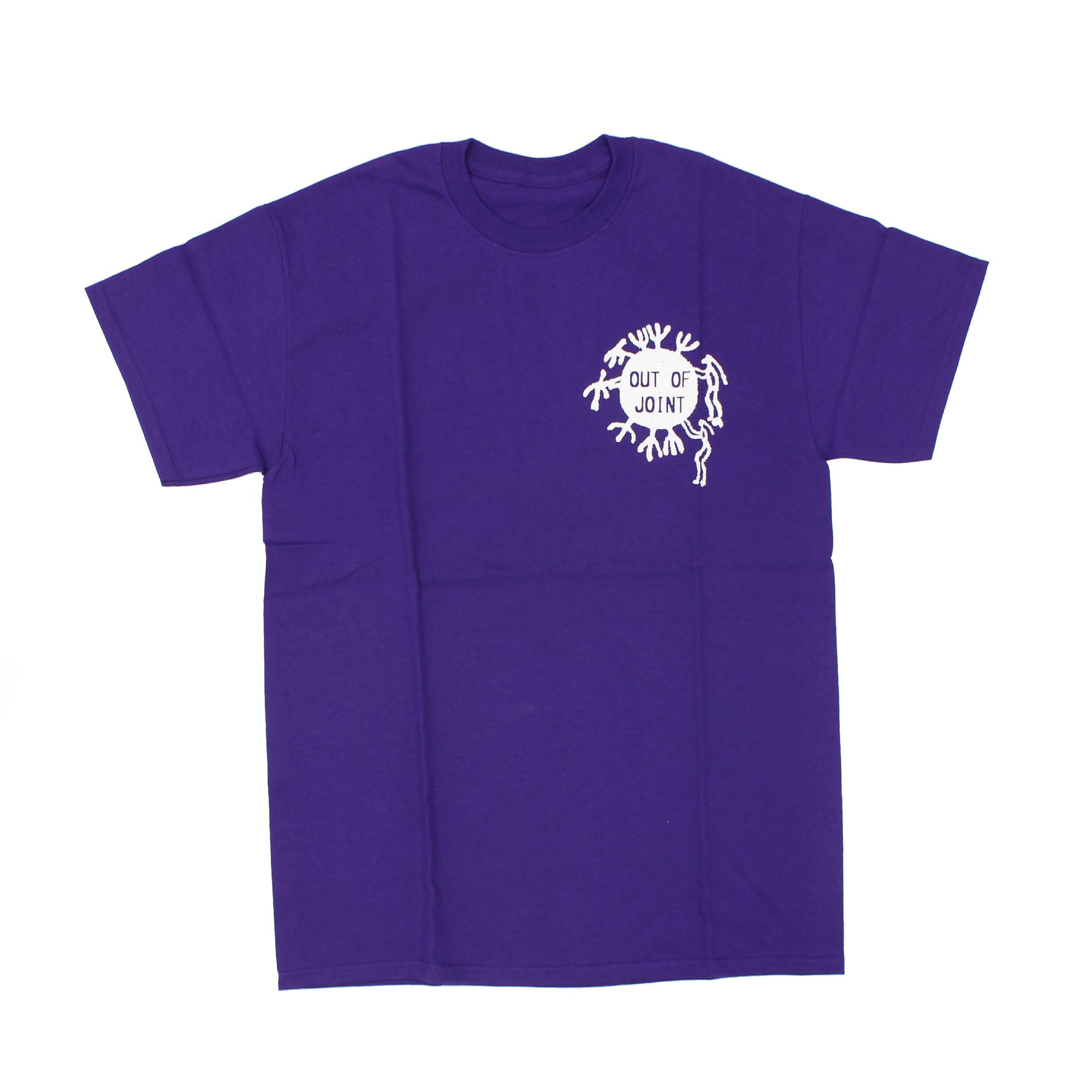 Out Of Joint Cactus T-Shirt Purple