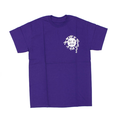 Out Of Joint Cactus T-Shirt Purple - Out Of Joint Records