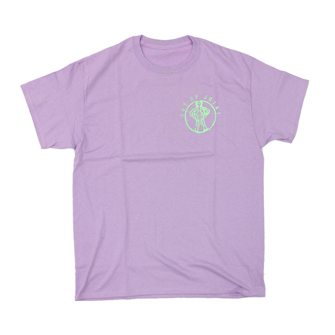 Out Of Joint Alien Baby T-Shirt Lilac - Out Of Joint Records