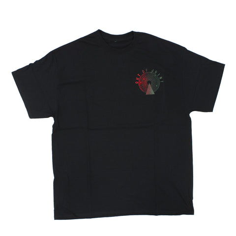 Out Of Joint Stock T-Shirt Black - Out Of Joint Records