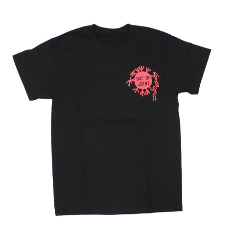 Out Of Joint Cactus T-Shirt Black - Out Of Joint Records