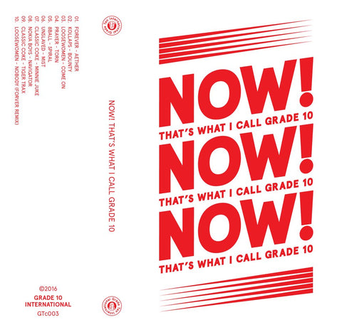 Now! That's What I Call Grade 10 Vol. 2 (Cassette) - Out Of Joint Records