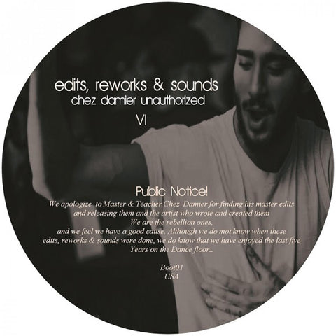 Unknown - Edits, Reworks & Sounds - Chez Damier Unauthorized