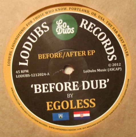 Egoless - Before / After EP (Pre-order) - Out Of Joint Records