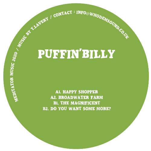 Puffin' Billy - MEDITATOR014 - Out Of Joint Records