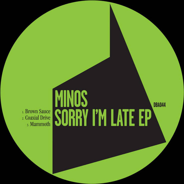 Minos - Sorry I'm Late EP - Out Of Joint Records