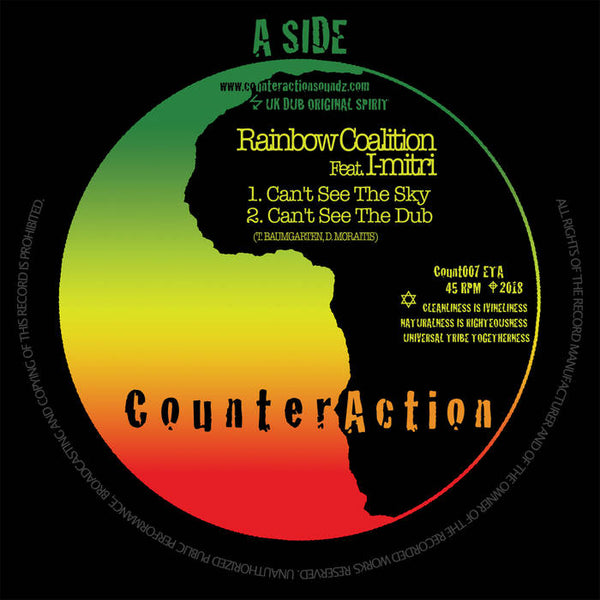 Rainbow Coalition Feat. I-Mitri - Can't See The Sky - Out Of Joint Records