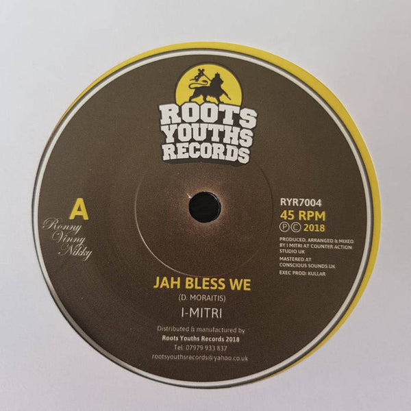 I-Mitri - Jah Bless We - Out Of Joint Records