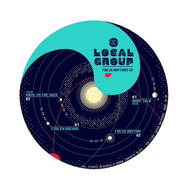 Local Group - Fresh Rhythms EP - Out Of Joint Records