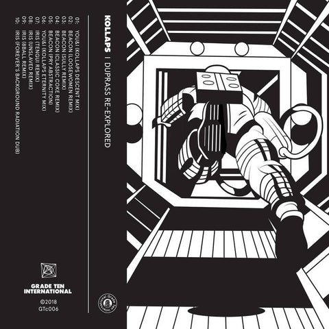 Kollaps - Duprass Re-Expolored (Cassette) - Out Of Joint Records