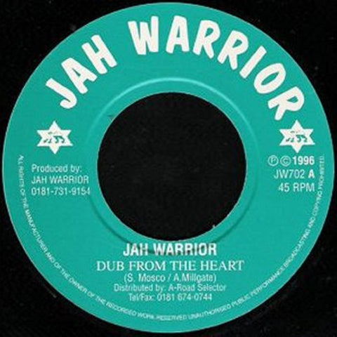 Jah Warrior - Dub From The Heart - Out Of Joint Records