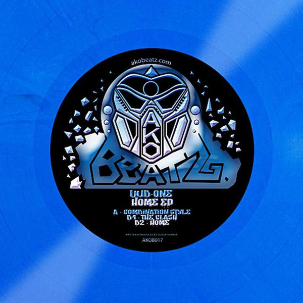 Dub One - Home EP (Blue Coloured Vinyl) - Out Of Joint Records