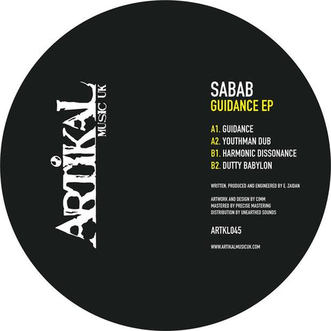 Sabab - Guidance EP - Out Of Joint Records