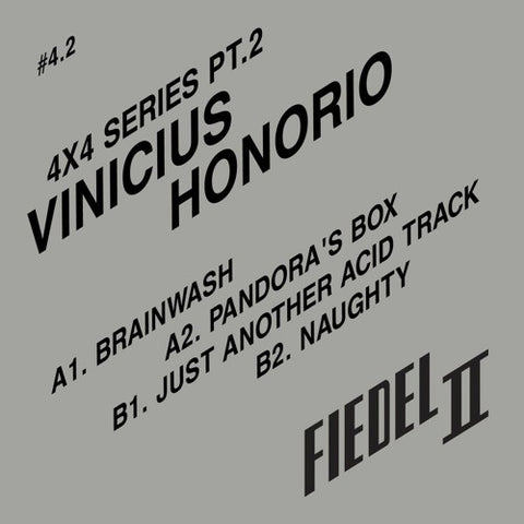 Vinicius Honorio - 4x4 Series Pt.2 (Import)