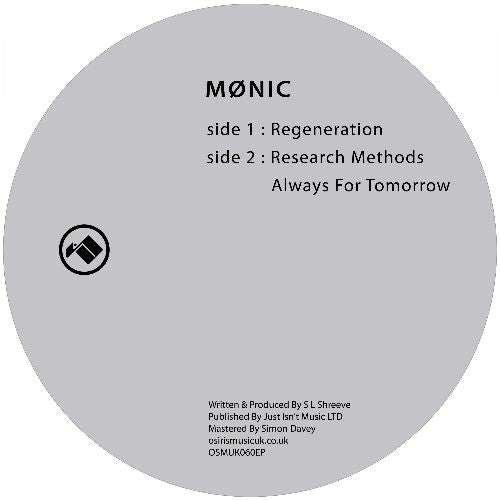 Mønic - Research Methods - Out Of Joint Records