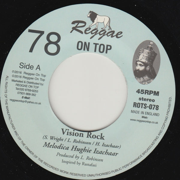Hughie Izachaar - Vision Rock - Out Of Joint Records